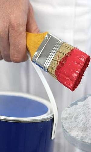 Cargas minerais para tintas