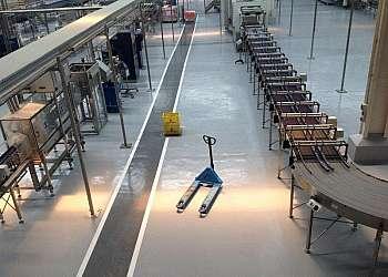 Distribuidor de talco industrial