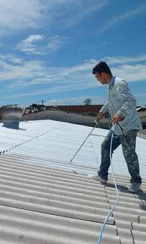 Isolamento térmico telhado industrial