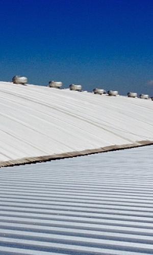 Membrana para telhado galvanizado