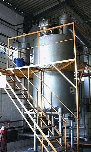 Sistema de recuperação de solventes