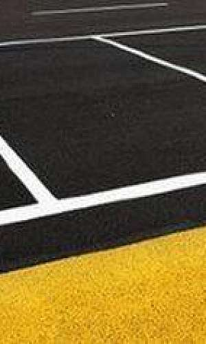Tinta para asfalto