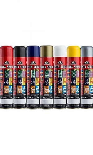Tinta spray para madeira